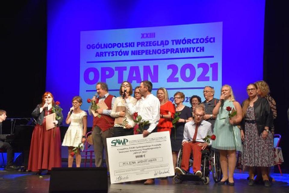 Grudziądz. Zakończył się XXIII Ogólnopolski Przegląd Twórczości Artystycznej Niepełnosprawnych