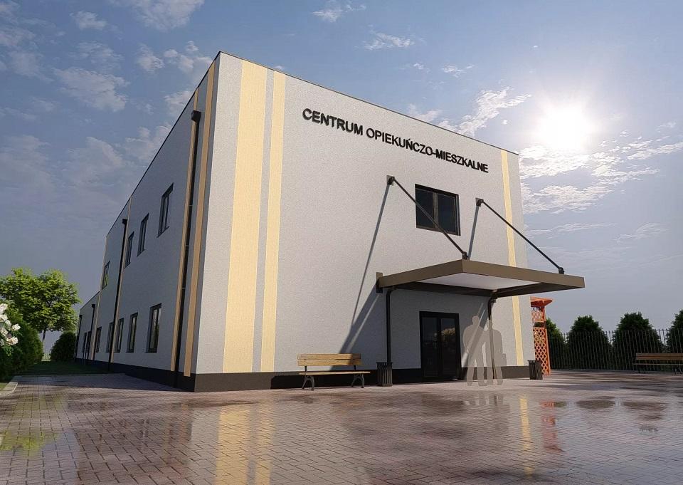 Radomsko. Dofinansowanie na budowę Centrum Opiekuńczo-Mieszkalnego