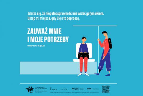 """Wrocław. Trwa kampania społeczna """"Niepełnosprawność. Niewidzialność? To ja!"""""""