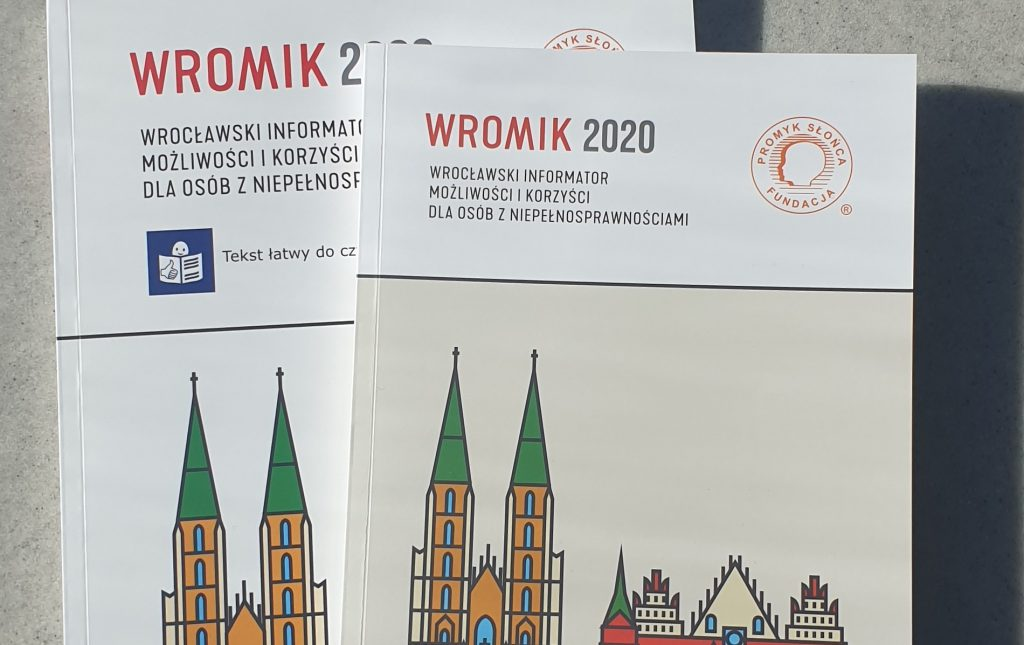 Wrocław. Nowe wydanie informatora WROMIK